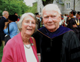 Photo of Robert Reichley and his wife Sara. Link to Bob's story.